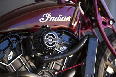 Indian Scout Custom Fuel Tank