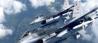 Τουρκικά αεροσκάφη παραβίασαν σήμερα 8 φορές τον ελληνικό εναέριο χώρο