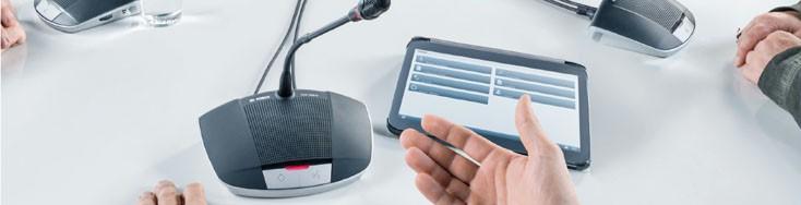 Hệ thống âm thanh hội thảo kỹ thuật số CCS 1000 D