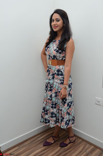 Miya George Looks Stunning in a Sleeveless Flower Print Gown at Yaman Movie Audio Launch Event Feb 2017 38.JPG