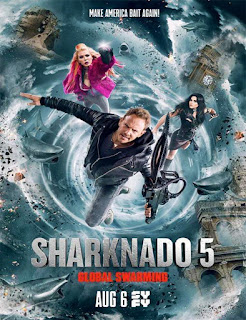 Ver Sharknado 5: Global Swarming (2017) Gratis Online