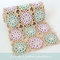 Autumn glory crochet scarf Pattern