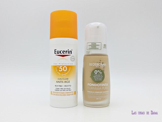 Deborah Milano Eucerin propteccion solar maquillaje argán primavera belleza cosmética alergia physicians formula