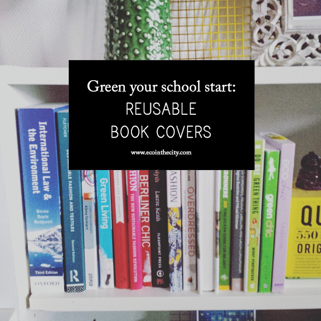 Green your school start with reusable book covers