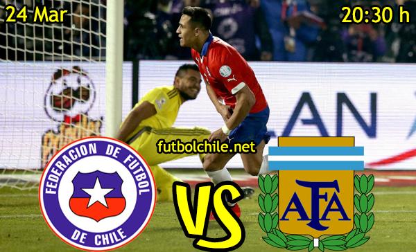 VER STREAM RESULTADO EN VIVO, ONLINE: Chile vs Argentina