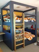la mejor cama cucheta para cuartos para niños