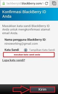 Konfirmasi BBID Terbaru di Android