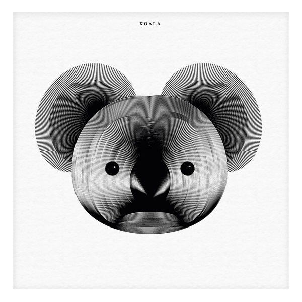 04-Koala-Andrea-Minini-Minimalist-and-Highly-Stylized-Drawings-www-designstack-co
