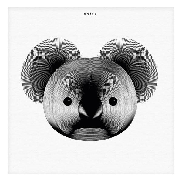 04-Koala-Andrea-Minini-Minimalist-and-Highly-Stylized-Drawings-www-designstack-co
