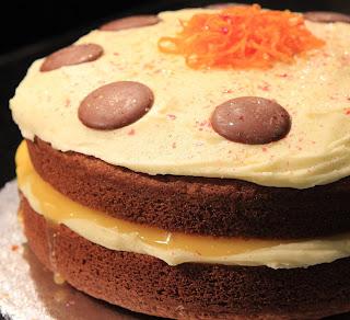 Gf Orange Cake