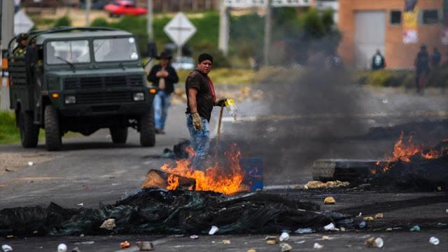 """Economía colombiana sufre """"duro impacto"""" por paro camionero"""
