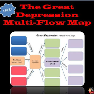 https://www.teacherspayteachers.com/Product/FREE-The-Great-Depression-Multi-Flow-Map-US-History-562584