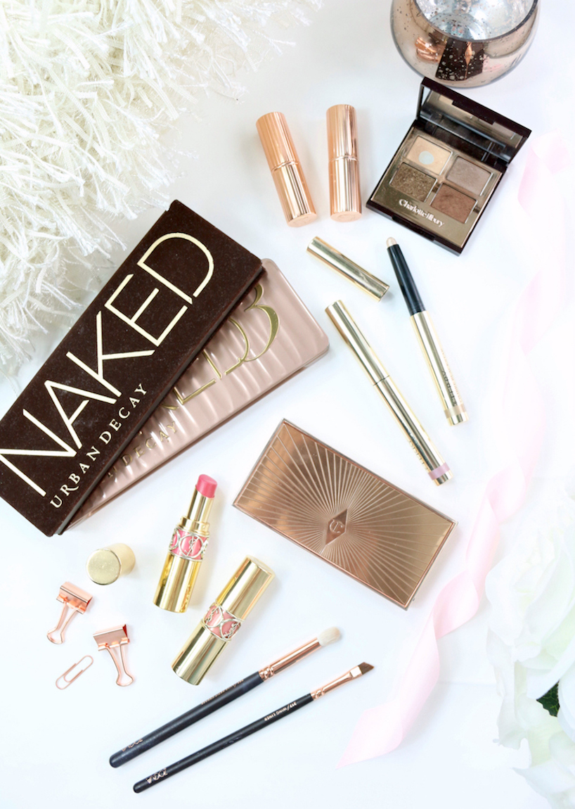 Rose Gold Makeup Picks Urban Decay, Charlotte Tilbury, YSL and ByTerry