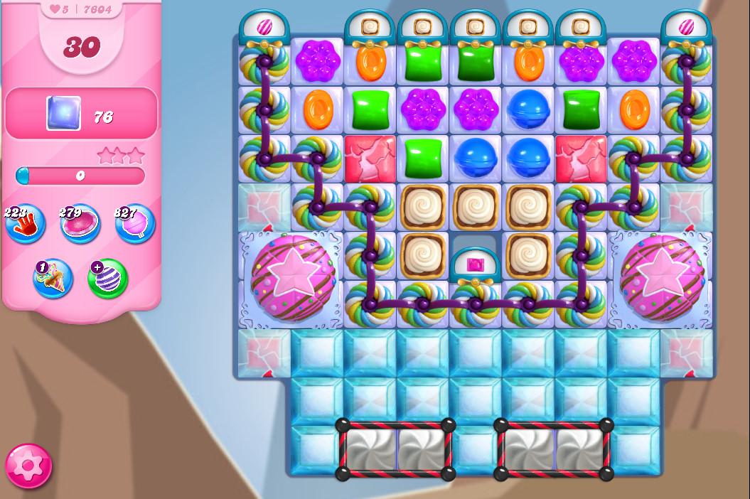 Candy Crush Saga level 7604