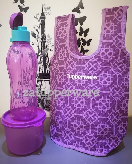 Tupperware Ramadhan Set with Pouch (Anggun Ungu)