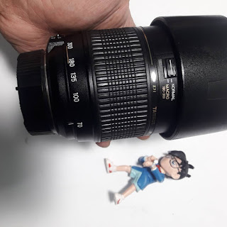 Lensa kamera hasil kurang bisa fokus