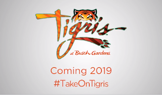 Coming 2019: Tigris at Busch Gardens Tampa
