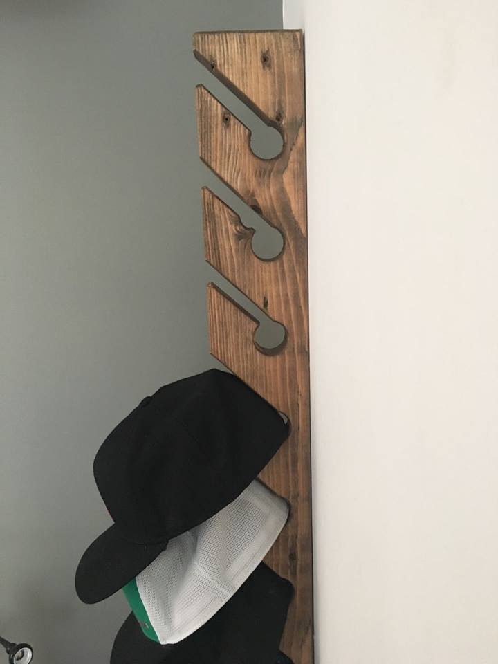 Colgadores de gorras