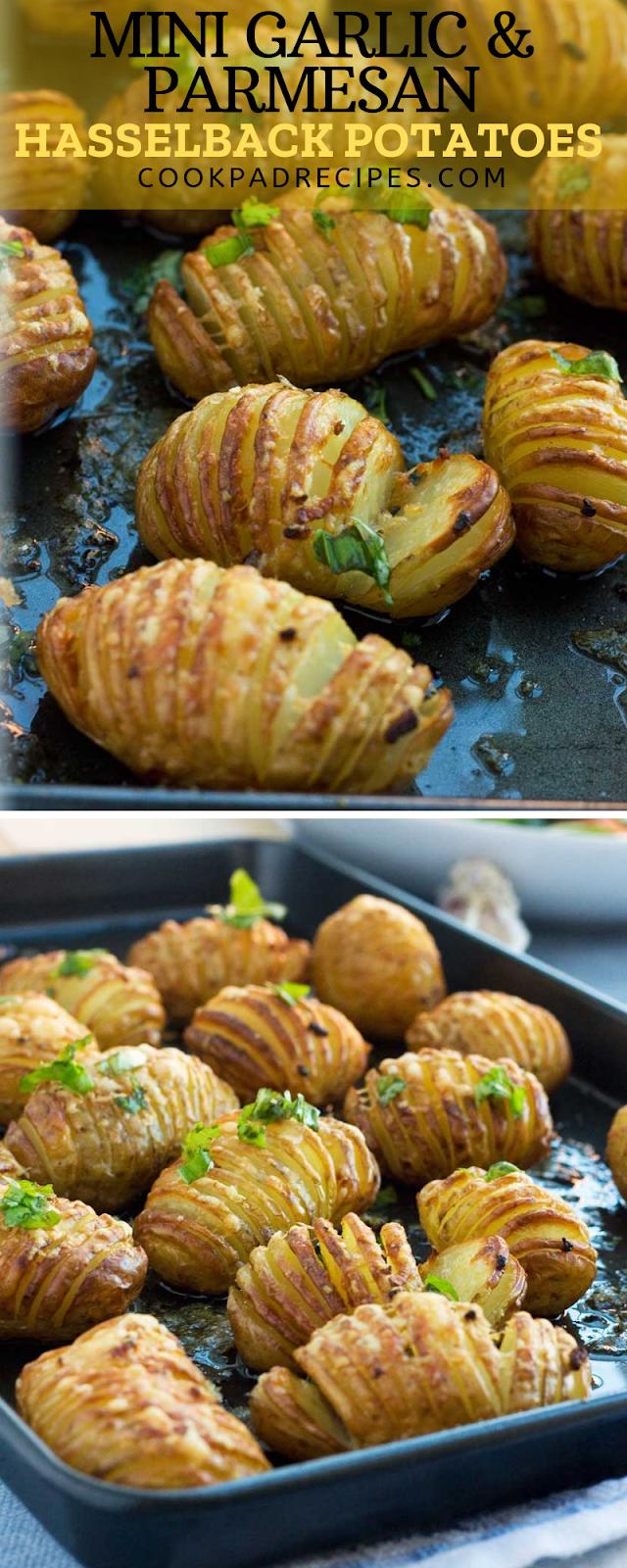 mini garlic & раrmеѕаn hаѕѕеlbасk роtаtоеѕ