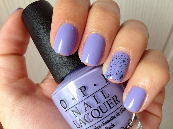 OPI - YOU'RE SUCH A BUDAPEST & GLITTER