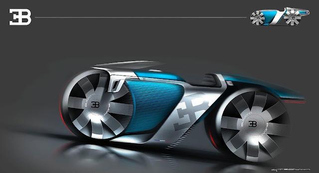 Bugatti Concept Bike Challenge Move Ten Manual Shift