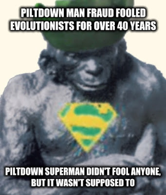 The Piltdown Man fraud fooled evolution enthusiasts for over 40 years. Why do evolutionists see evidence for evolution where none exists?