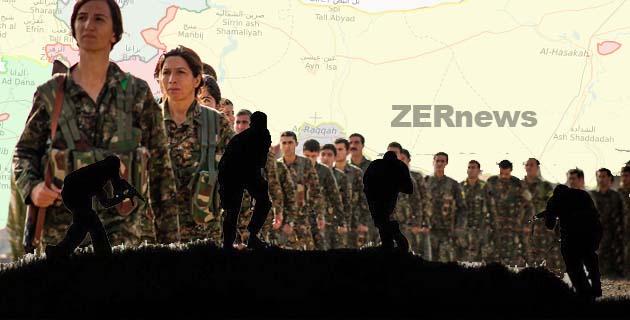 DSG Hürriyet Barajı Rakka IŞİD Operasyon
