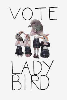 Cartel de la película de Lady Bird