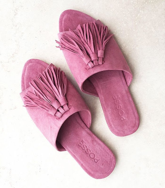 Perfect Summer Wardrobe: Pink Suede