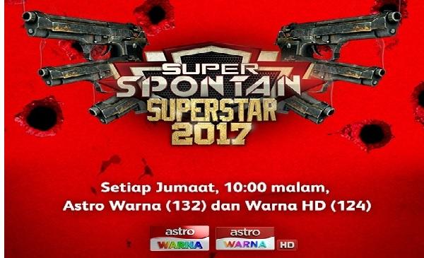 Juara Super Spontan Superstar 2017 akhir