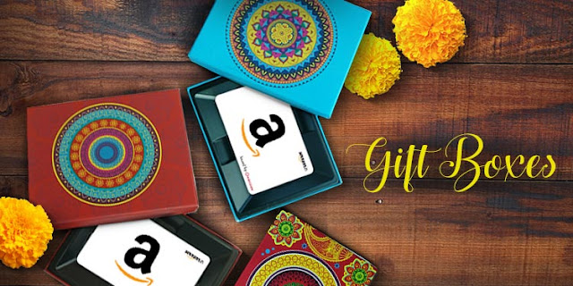 Amazon New Year 2017 E-Gift Card Offer - Rs.50 Off on Gift Voucher of Rs.1000