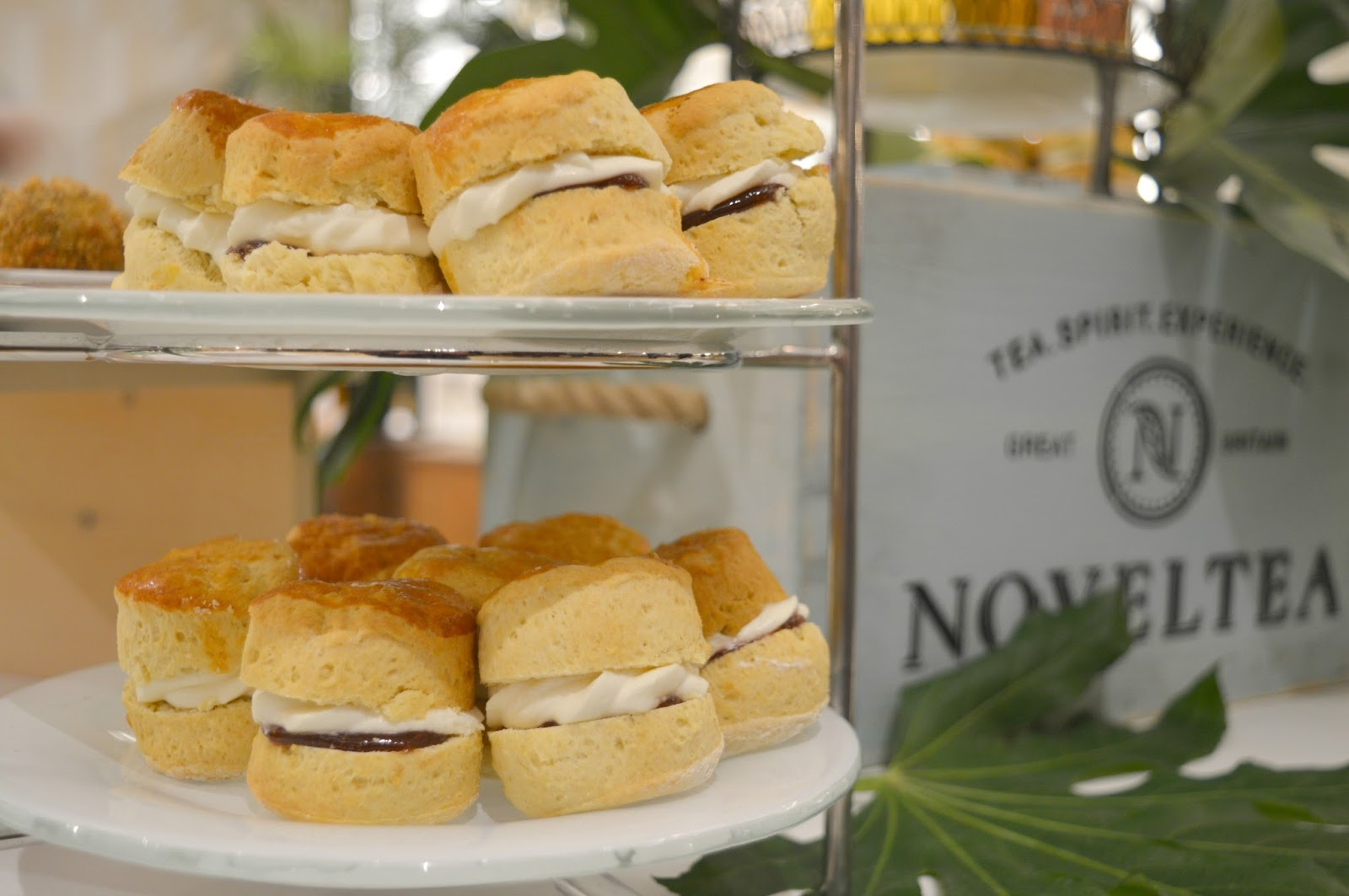 An Alcoholic Tea Party at Fenwick Newcastle with NOVELTEA Mason + Rye Scones