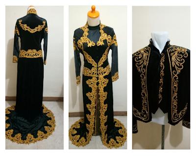 Sewa Baju Pengantin Muslimah Modern Murah