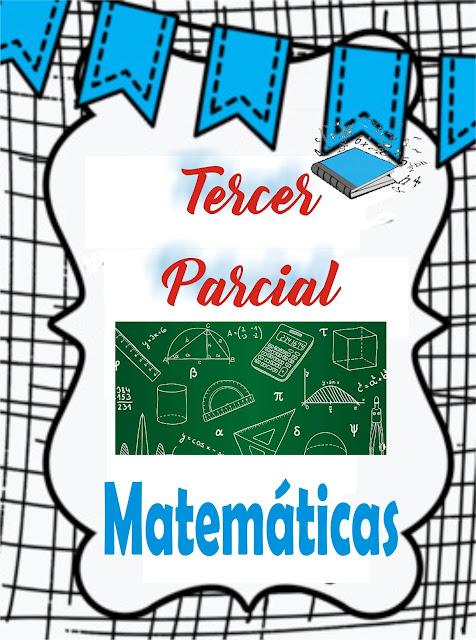 matemáticas tercer parcial imagenes de matematicas portadas de matemáticas, división de matemáticas para dividir los parciales
