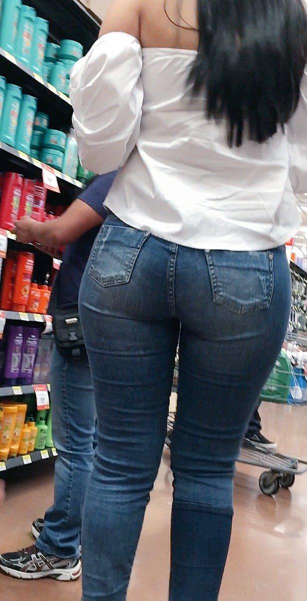 Culona de jeans azules la arrecha part 2