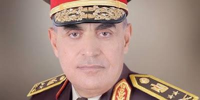 الفريق أول / صدقى صبحى القائد العام للقوات المسلحة وزير الدفاع والإنتاج الحربى