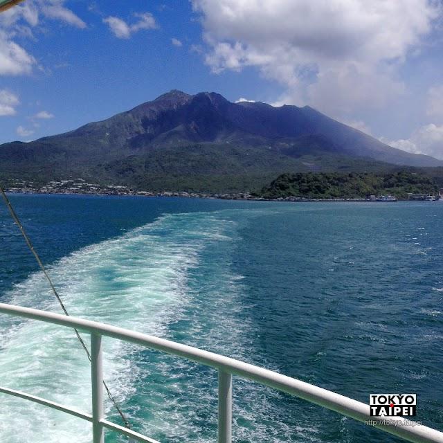 【櫻島】從鹿兒島搭船 造訪這不斷噴發的活火山島
