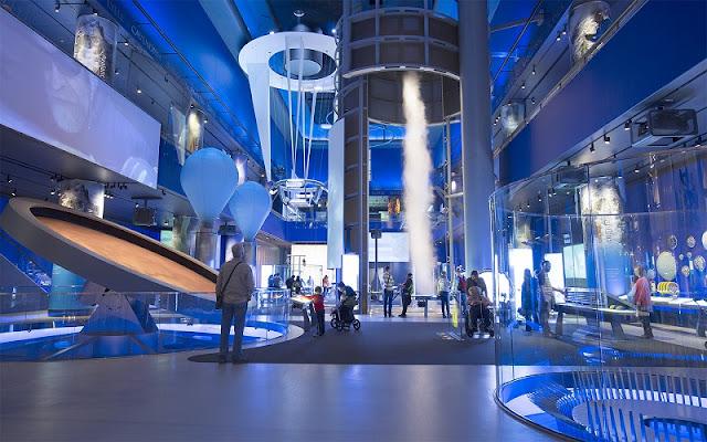 Visita ao Museu da Ciência e da Indústria