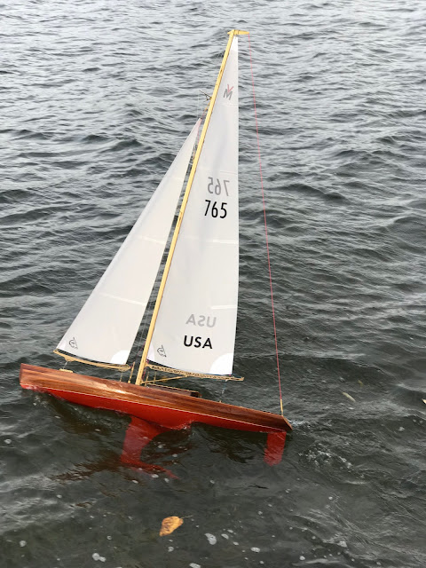 Vintage Marblehead Sun Wind HF RC sailboat classic VM