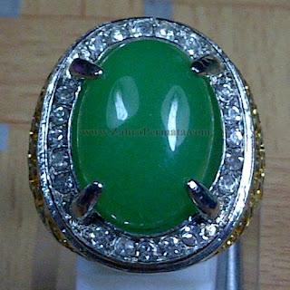 Cincin Batu Green Aventurine - ZP 966