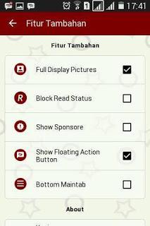 BBM MOD Red Elegant v3.0.0.18 APK Terbaru 2016