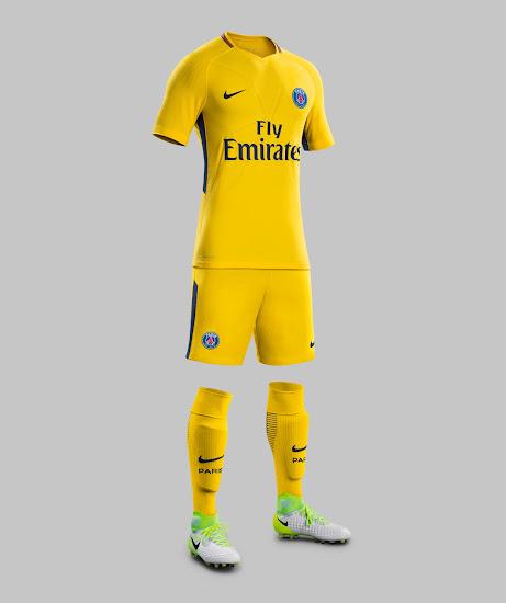 Paris Saint-Germain 17-18 Away Kit Revealed
