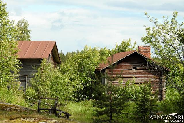Rajaniemi,talo sauna, risteys,reki