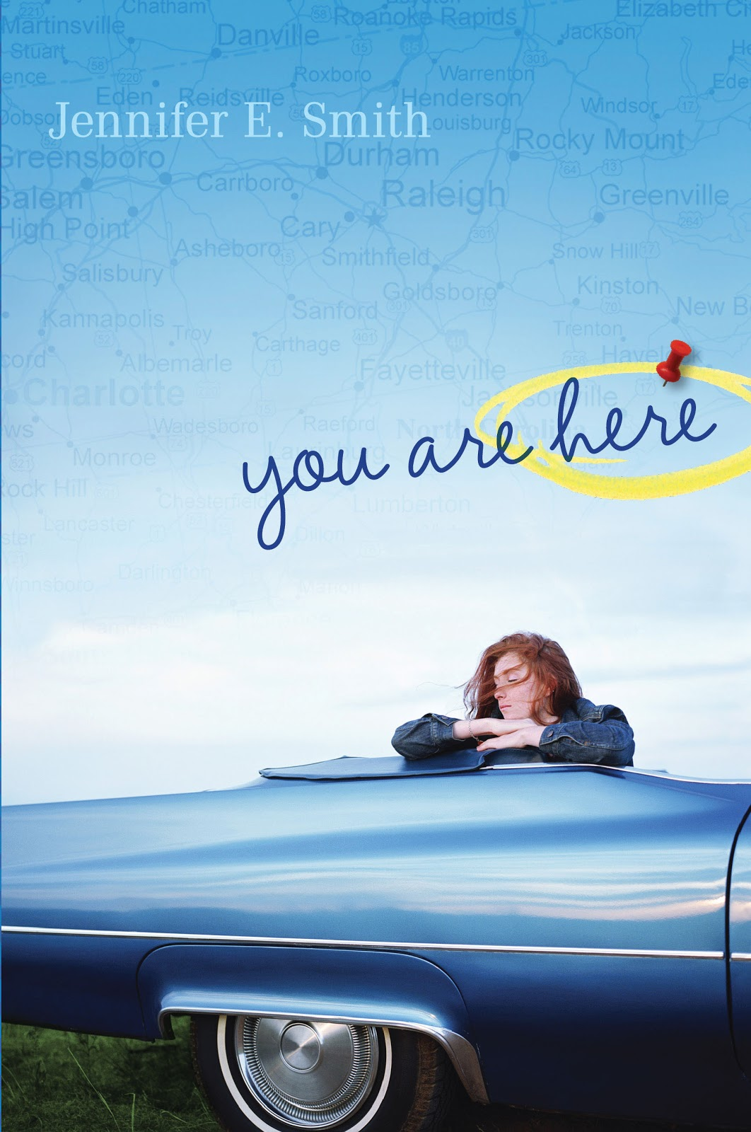 you are here de jennifer e. smith