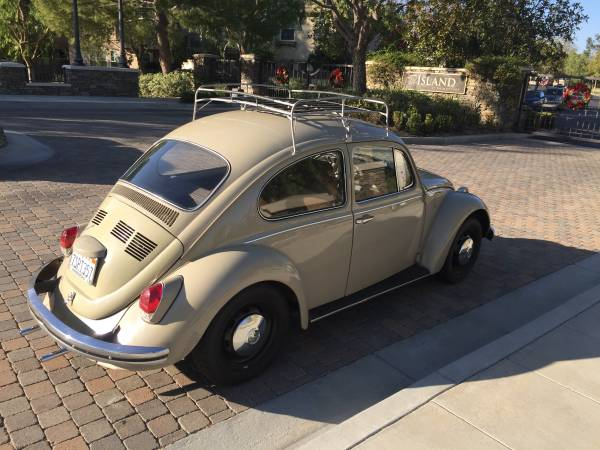 1969 VW Beetle Hard Top Semi-Automatic