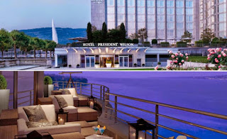 Hotel President Wilson de Ginebra, Suiza, el hotel mas costoso del mundo