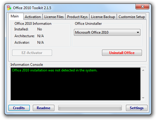 office activator 2010