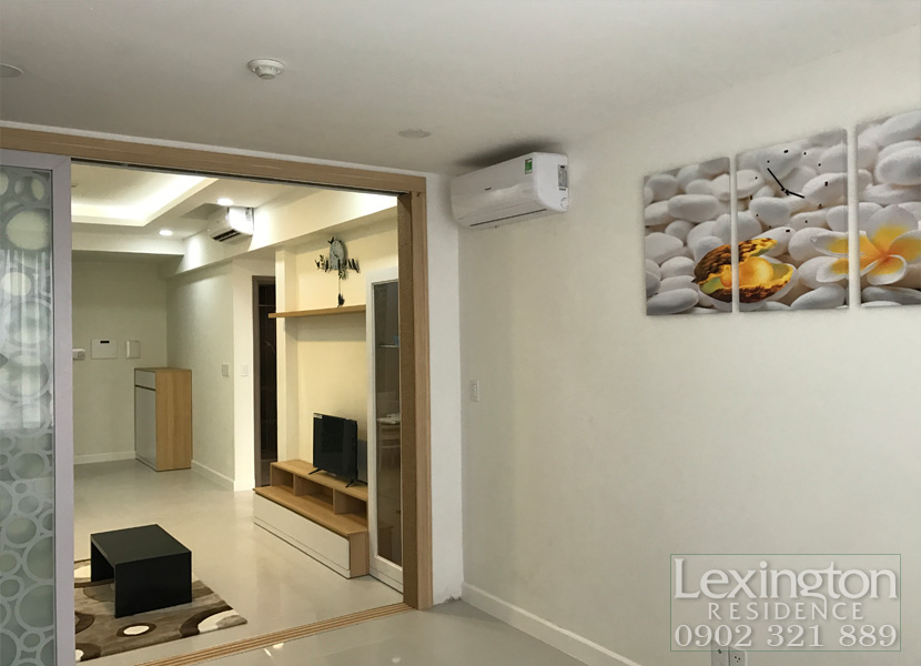 cho thuê căn hộ Lexington 1PN - Không gian phòng ngủ