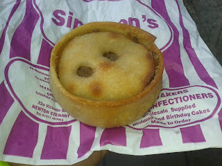 Simpsons Stranraer Scotch Pie