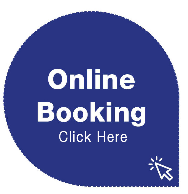 Booking on our website